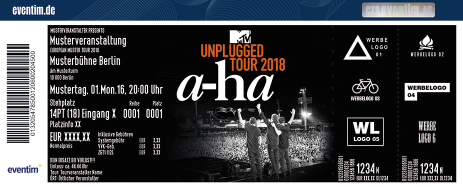 a-ha - MTV Unplugged Tour 2018 - tickets