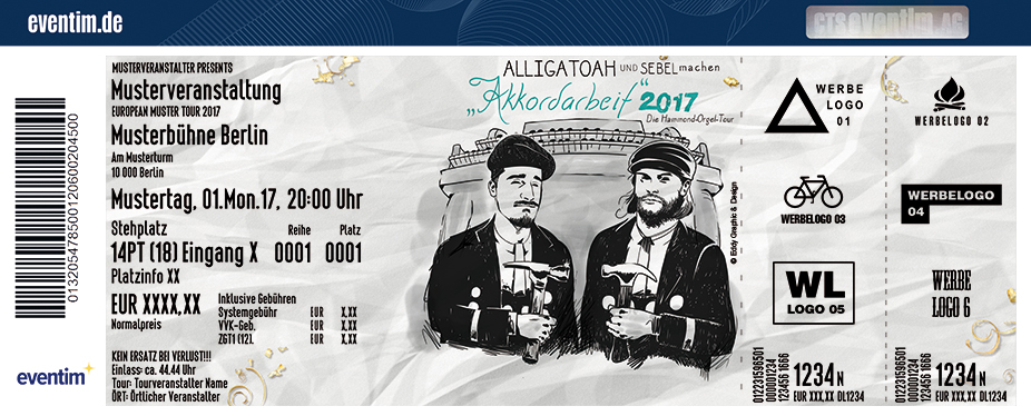 Alligatoah: Akkordarbeit 2017 - tickets