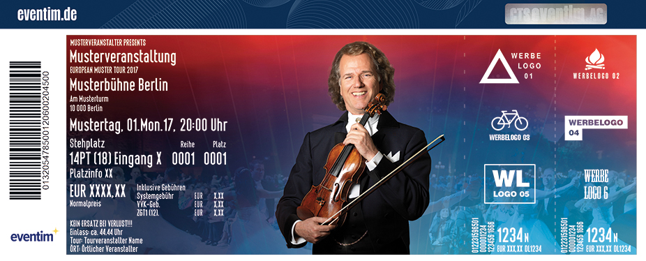 André Rieu - Tour 2018 - tickets