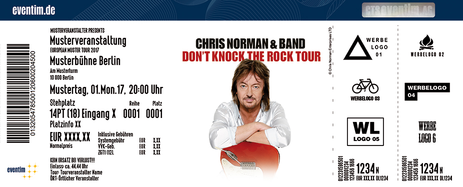 Chris Norman: Don't Knock The Rock - Tour 2018 - tickets