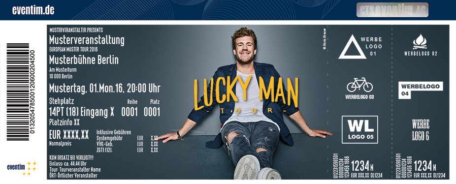 Luke Mockridge: Lucky Man - tickets